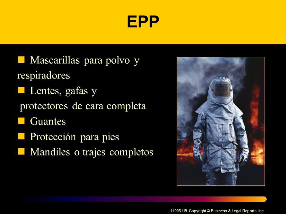 EPP Mascarillas para polvo y respiradores Lentes, gafas y