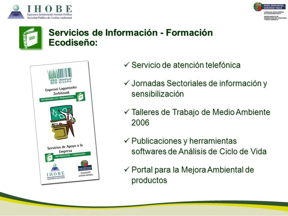 Servicios de Información - Formación Ecodiseño:
