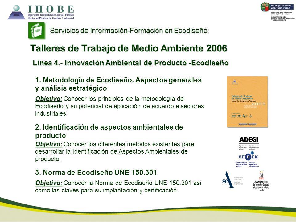 Talleres de Trabajo de Medio Ambiente 2006
