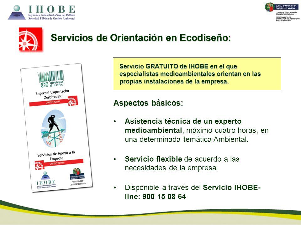 Servicios de Orientación en Ecodiseño: