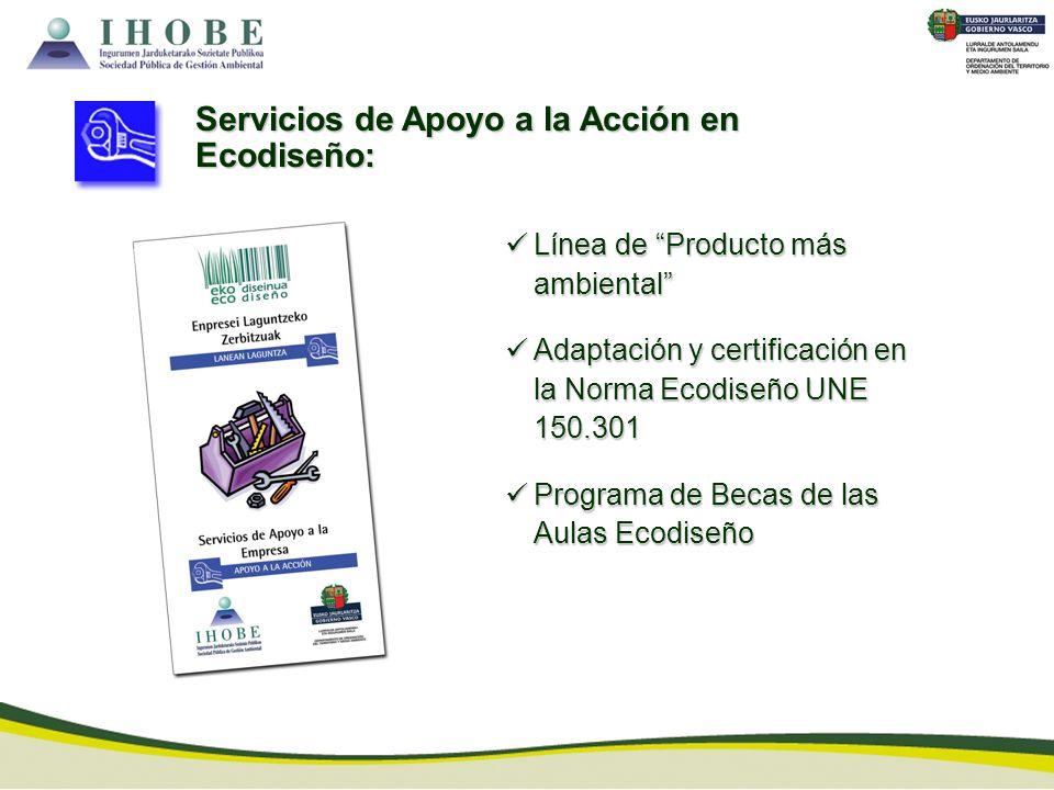 Servicios de Apoyo a la Acción en Ecodiseño: