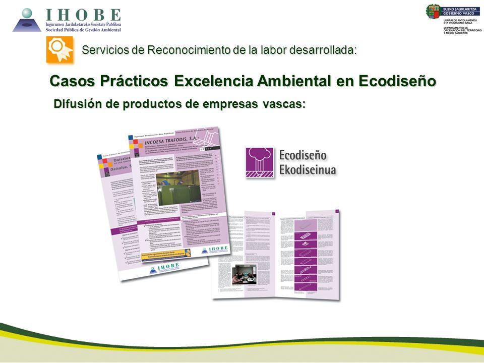 Casos Prácticos Excelencia Ambiental en Ecodiseño