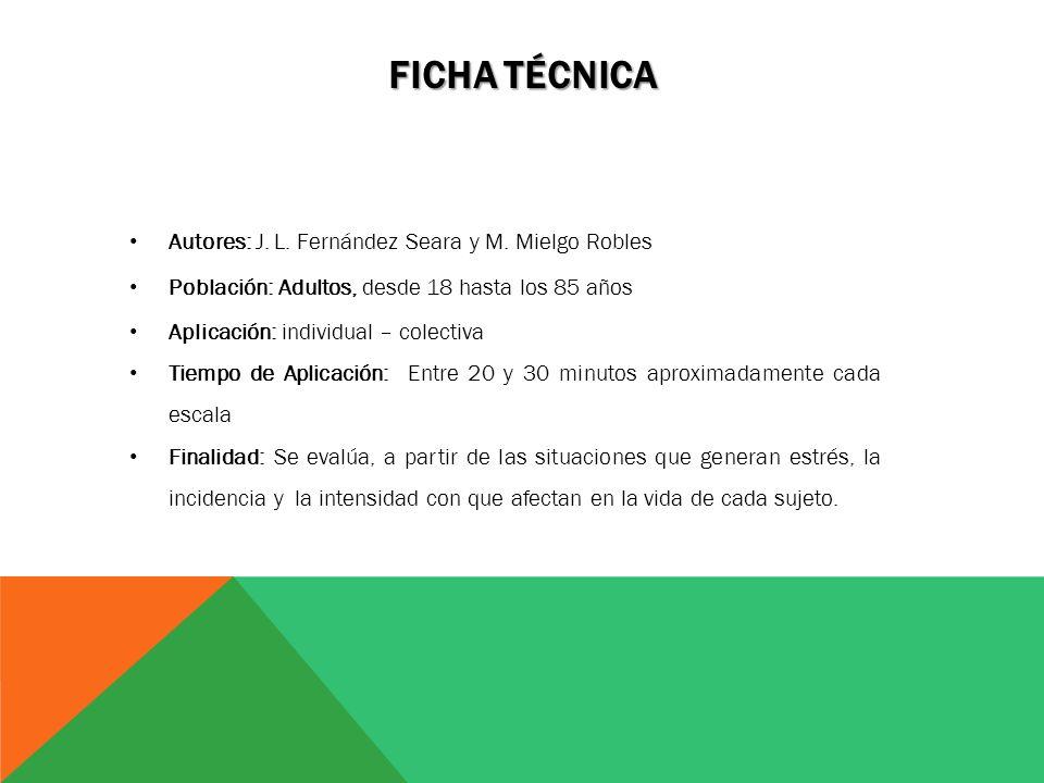 Ficha Técnica Autores: J. L. Fernández Seara y M. Mielgo Robles
