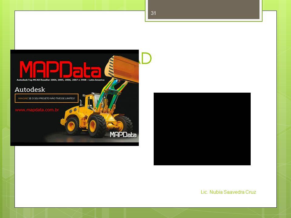 Evolución CAD Lic. Nubia Saavedra Cruz