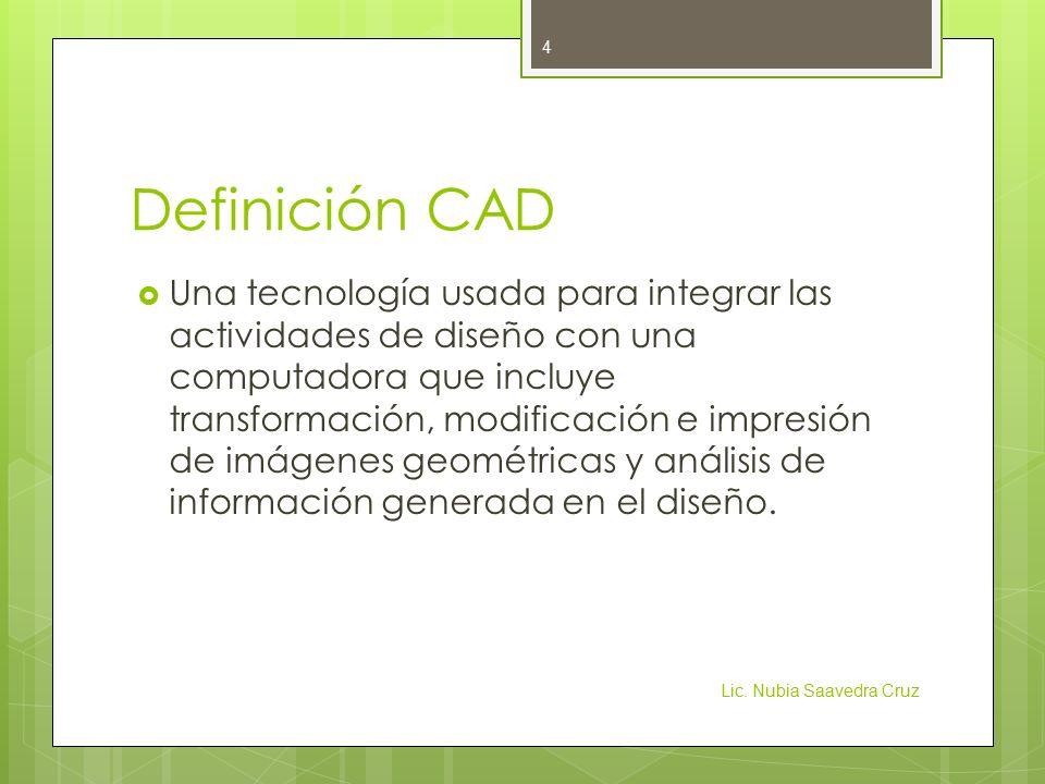 Definición CAD