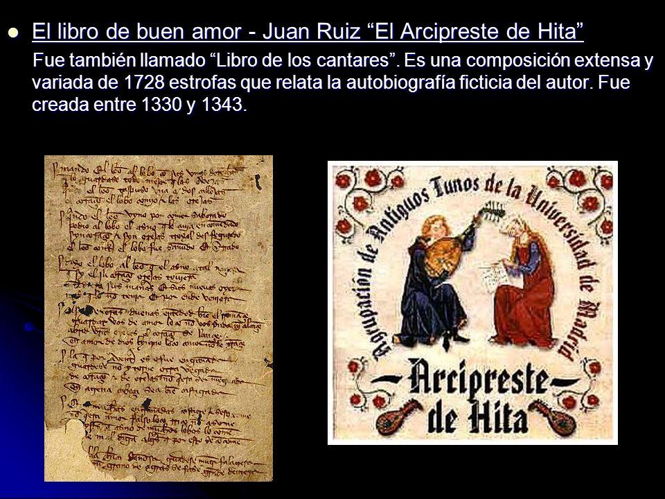 El libro de buen amor - Juan Ruiz El Arcipreste de Hita