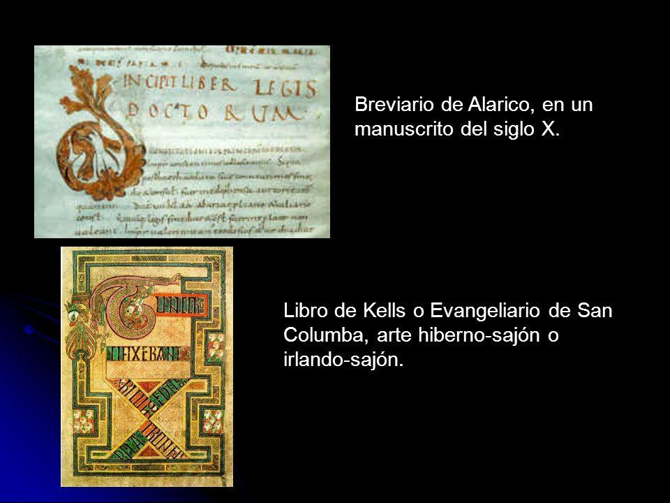 Breviario de Alarico, en un manuscrito del siglo X.