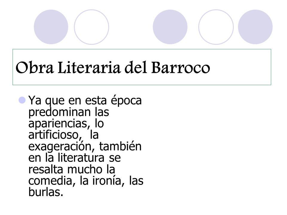 Obra Literaria del Barroco