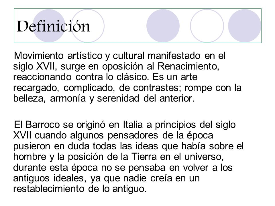 El barroco integrantes marcela n ez james montti for Arte arquitectura definicion