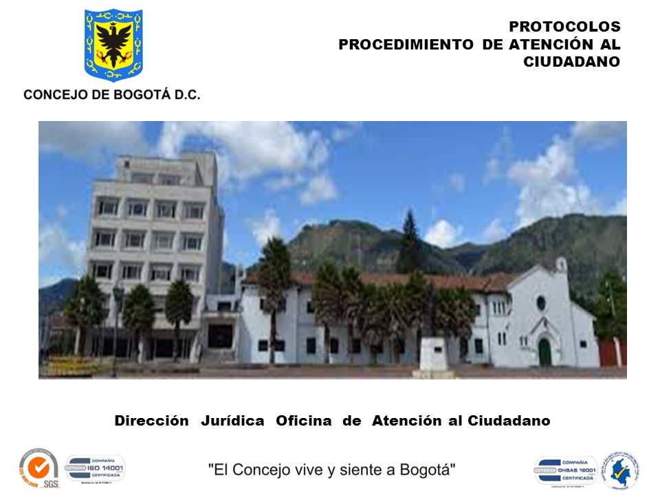 Concejodebogota ppt descargar for Oficina de atencion al ciudadano