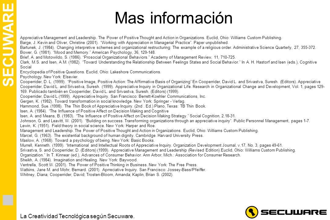 Mas información