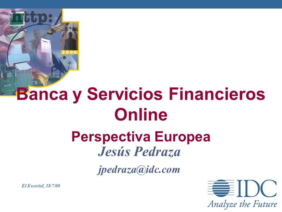 Banca y Servicios Financieros Online Perspectiva Europea