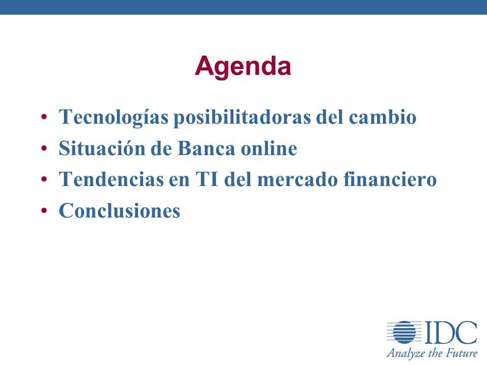 Agenda Tecnologías posibilitadoras del cambio