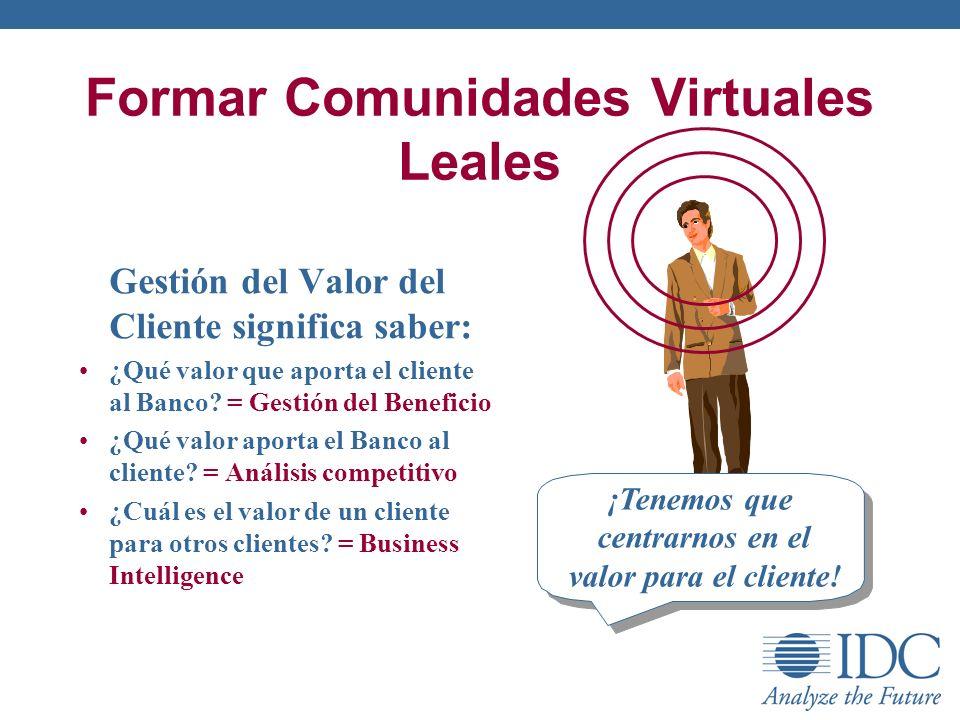 Formar Comunidades Virtuales Leales