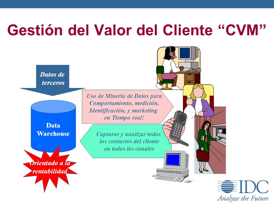 Gestión del Valor del Cliente CVM