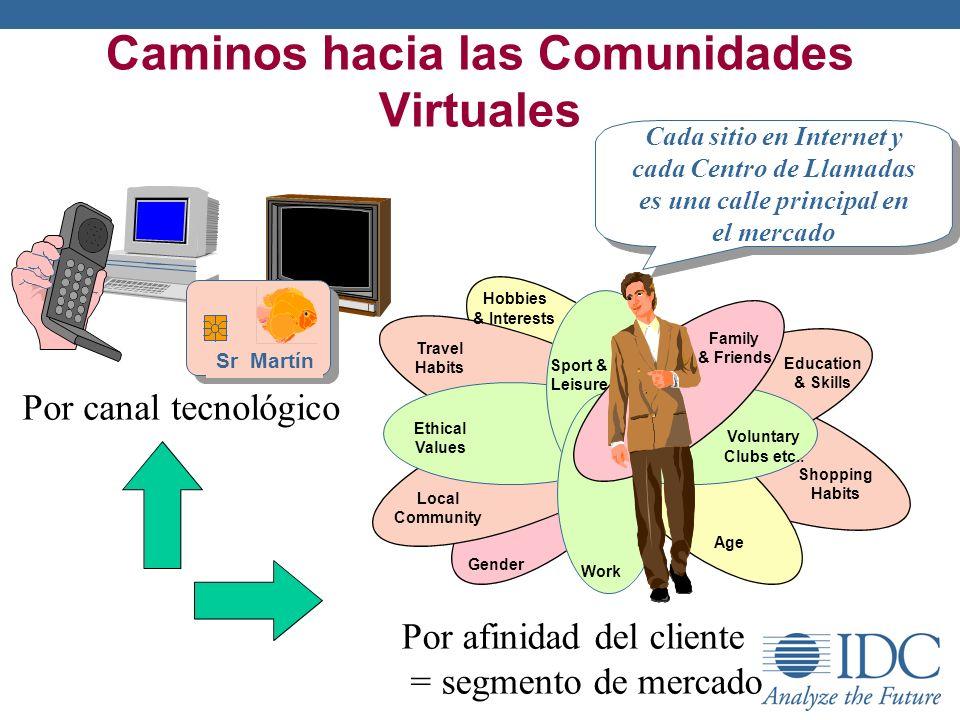 Caminos hacia las Comunidades Virtuales