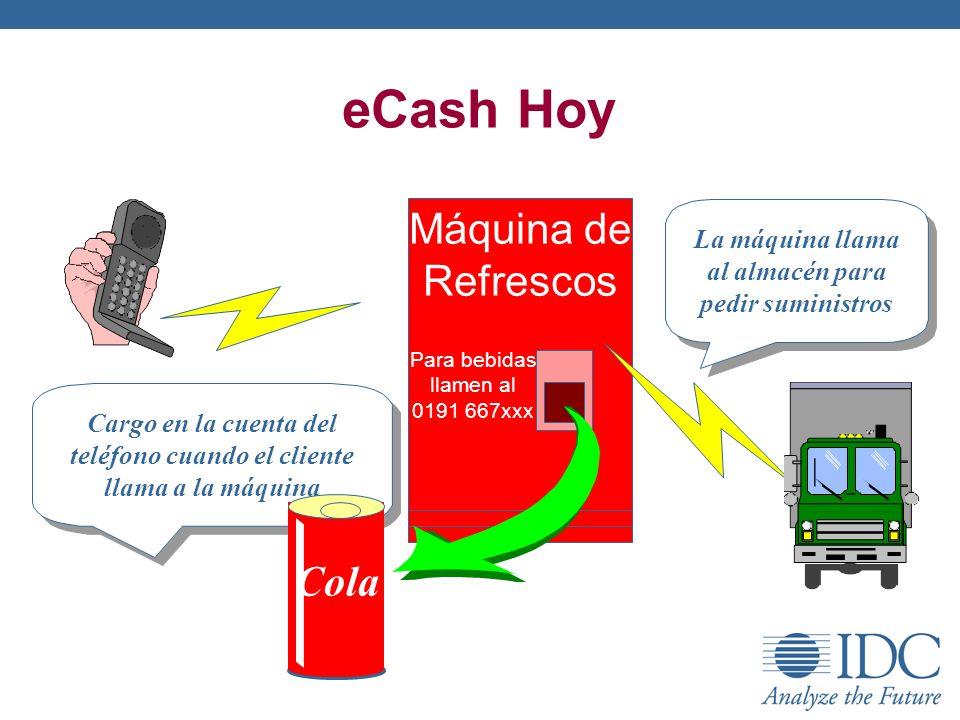 eCash Hoy Máquina de Refrescos Cola
