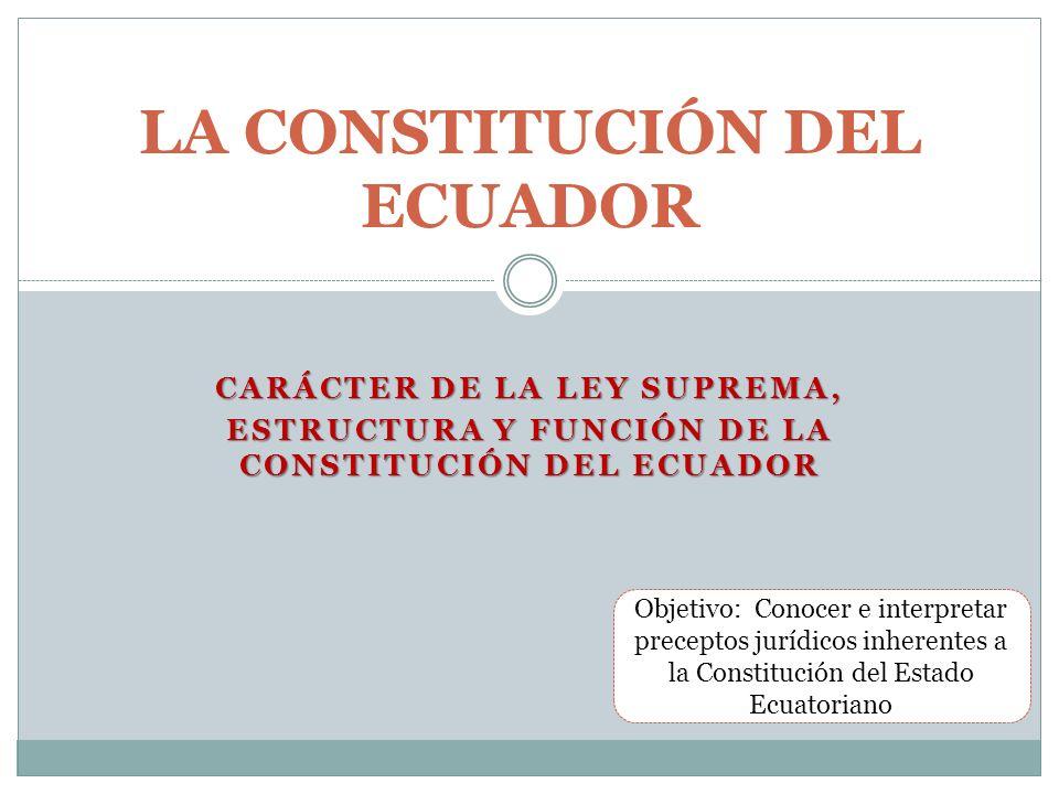 La Constitución Del Ecuador Ppt Video Online Descargar