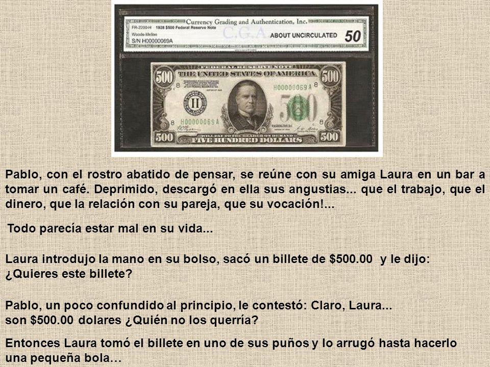 EL BILLETE DE $500.00 pesos