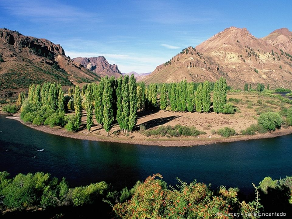 río Limay - Valle Encantado
