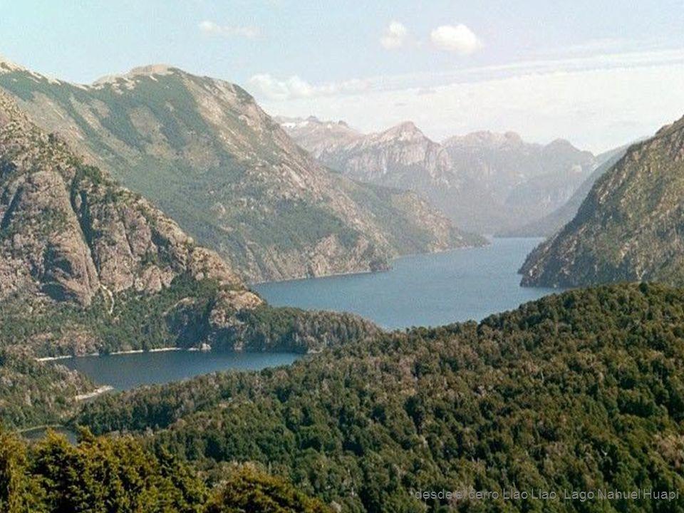desde el cerro Llao Llao, Lago Nahuel Huapi