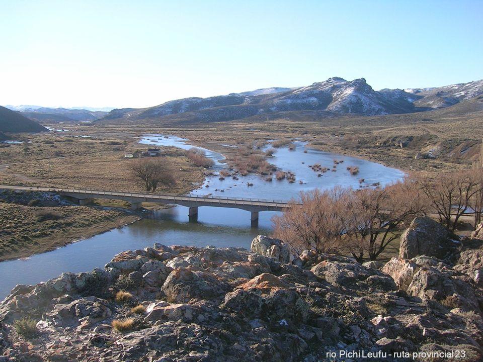 rio Pichi Leufu - ruta provincial 23