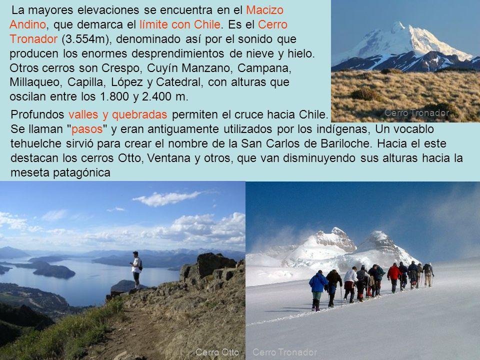 Profundos valles y quebradas permiten el cruce hacia Chile.