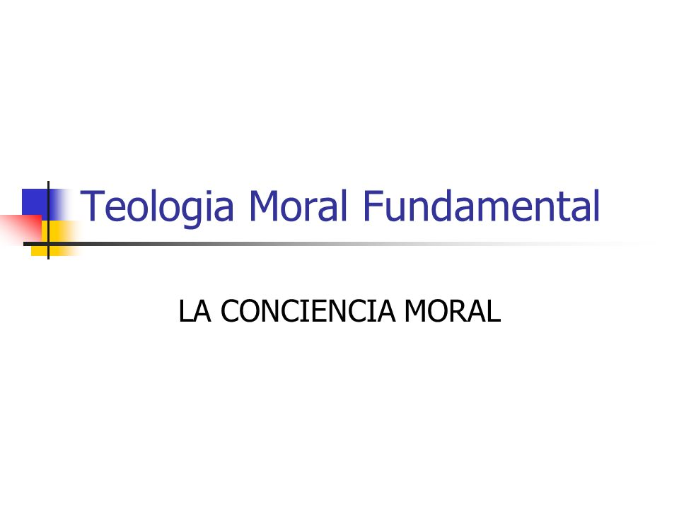 Teologia Moral Fundamental