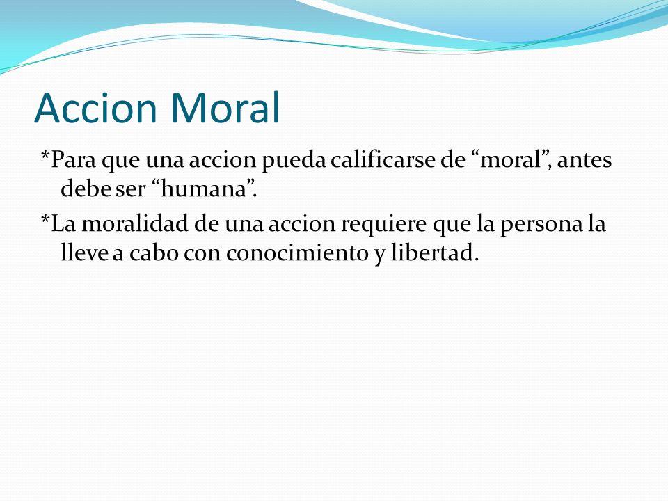 Accion Moral