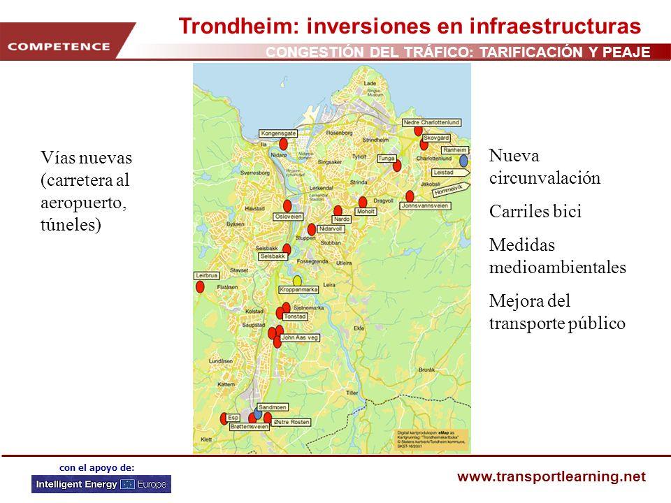 Trondheim: inversiones en infraestructuras