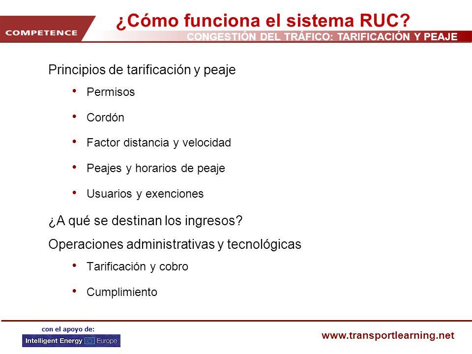 ¿Cómo funciona el sistema RUC