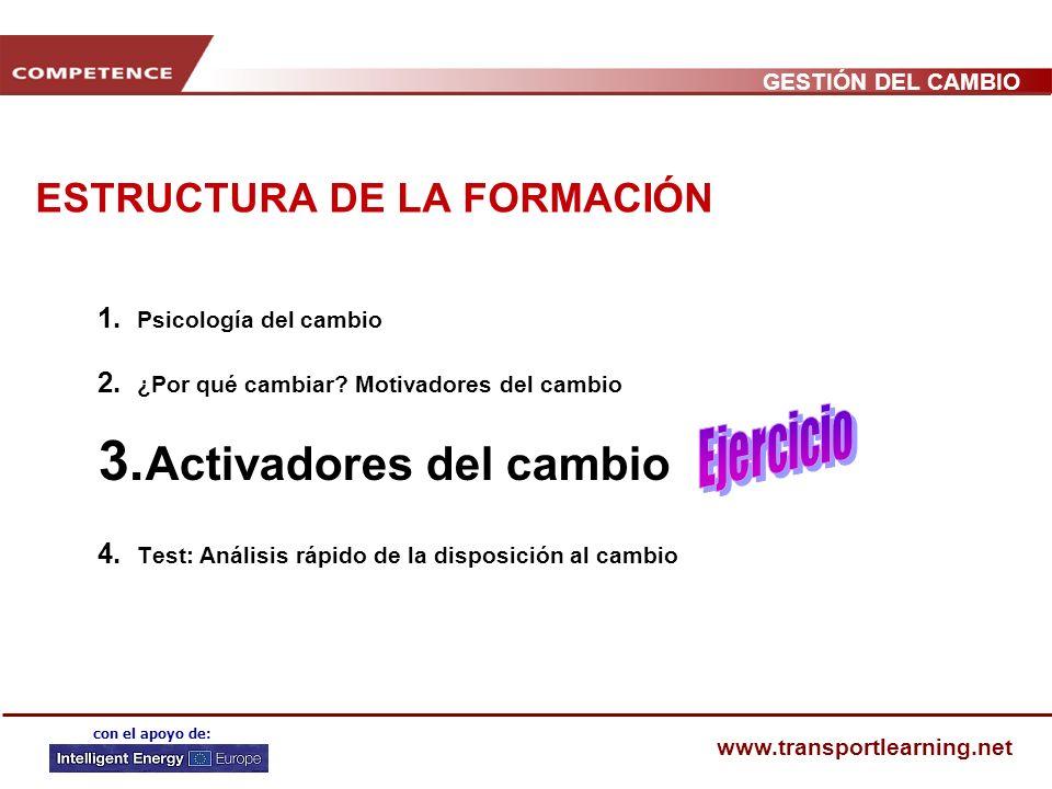 ESTRUCTURA DE LA FORMACIÓN