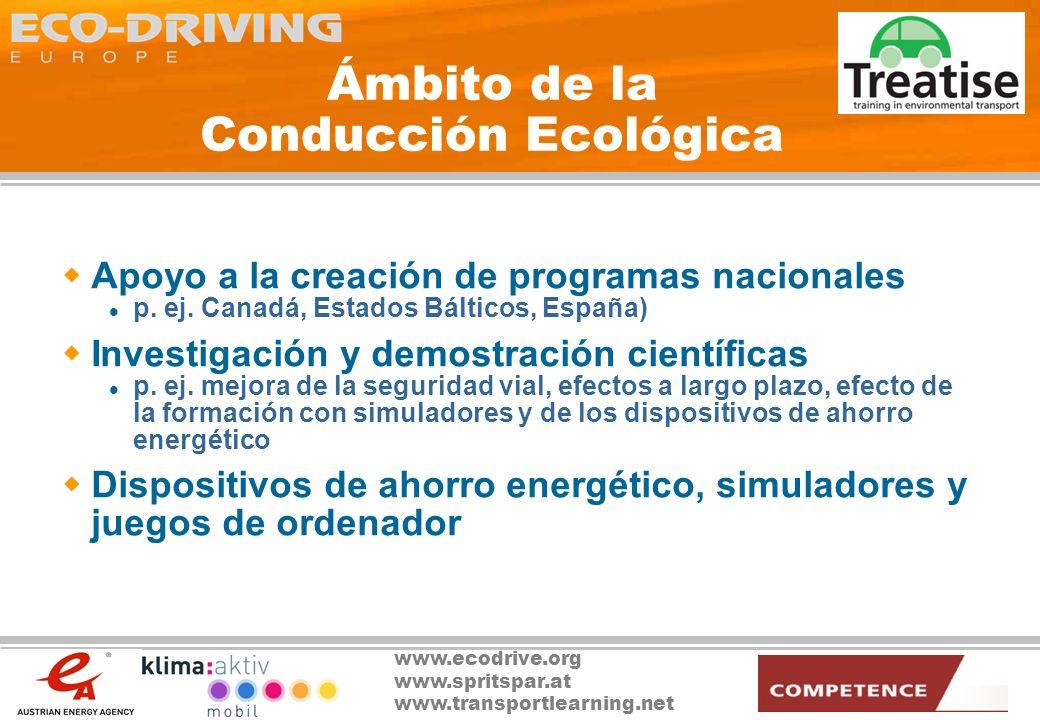 Ámbito de la Conducción Ecológica