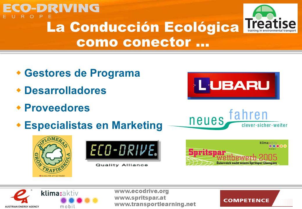 La Conducción Ecológica como conector …