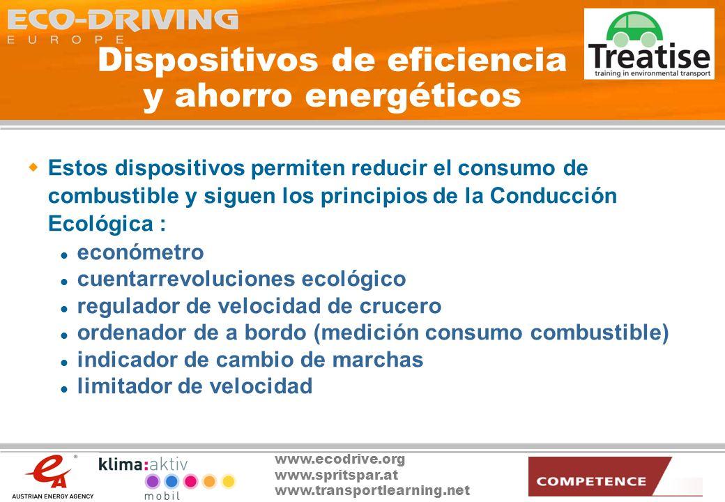 Dispositivos de eficiencia y ahorro energéticos
