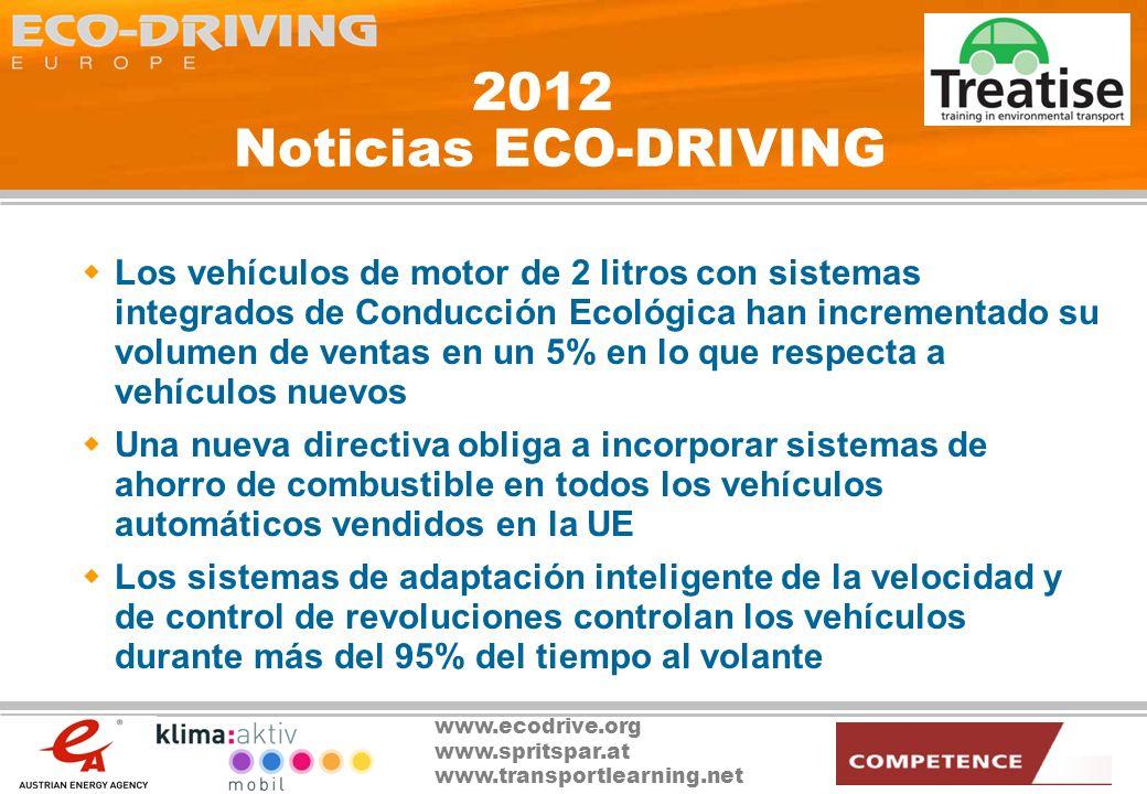 2012 Noticias ECO-DRIVING