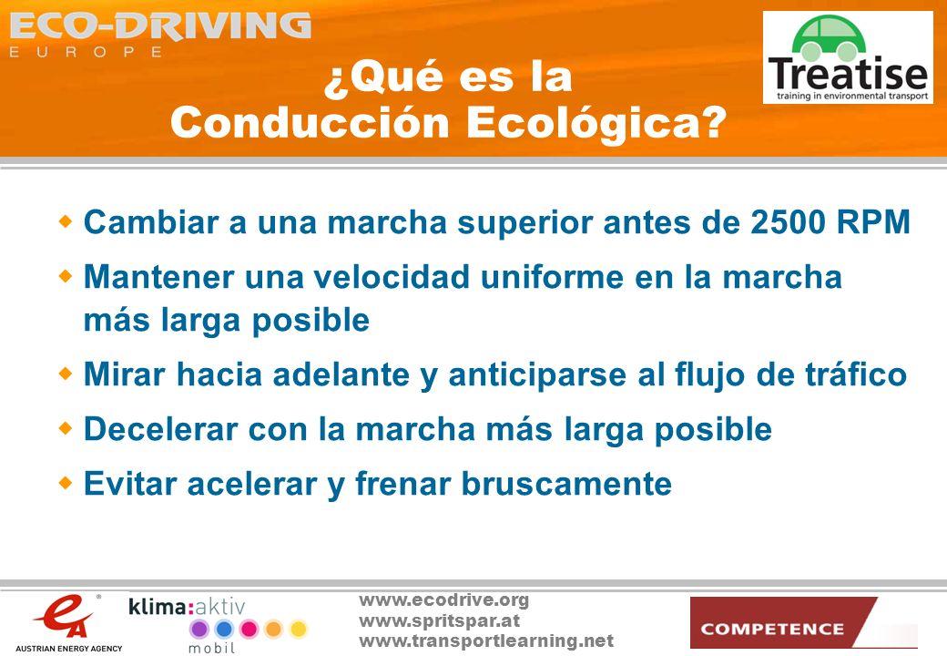 ¿Qué es la Conducción Ecológica