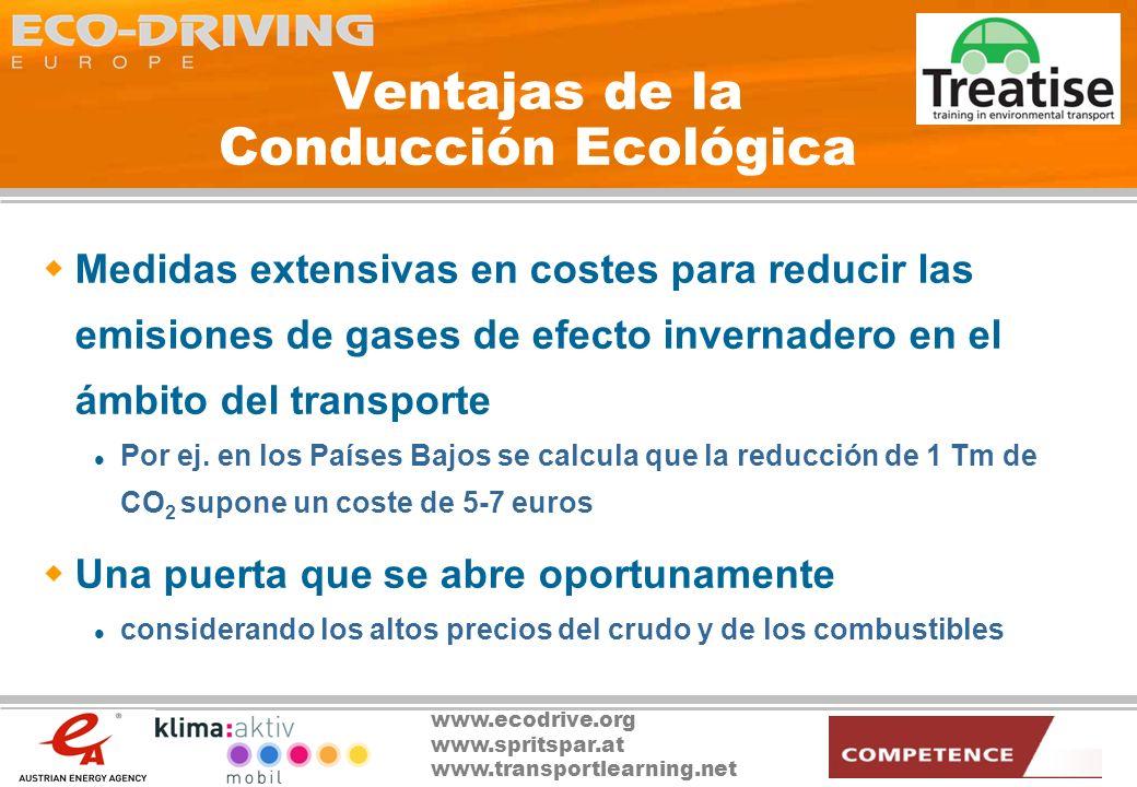 Ventajas de la Conducción Ecológica