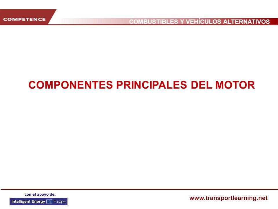 COMPONENTES PRINCIPALES DEL MOTOR