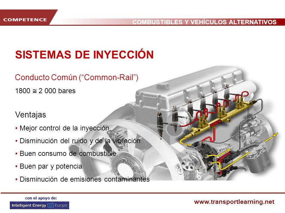 SISTEMAS DE INYECCIÓN Conducto Común ( Common-Rail ) Ventajas