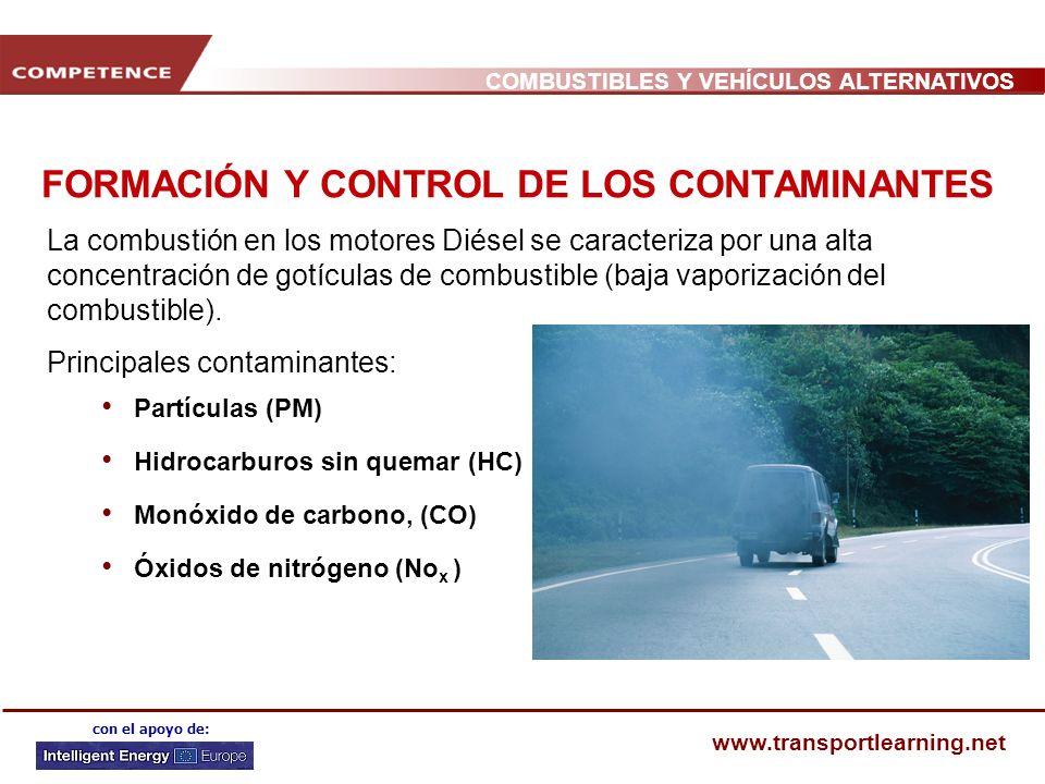 FORMACIÓN Y CONTROL DE LOS CONTAMINANTES