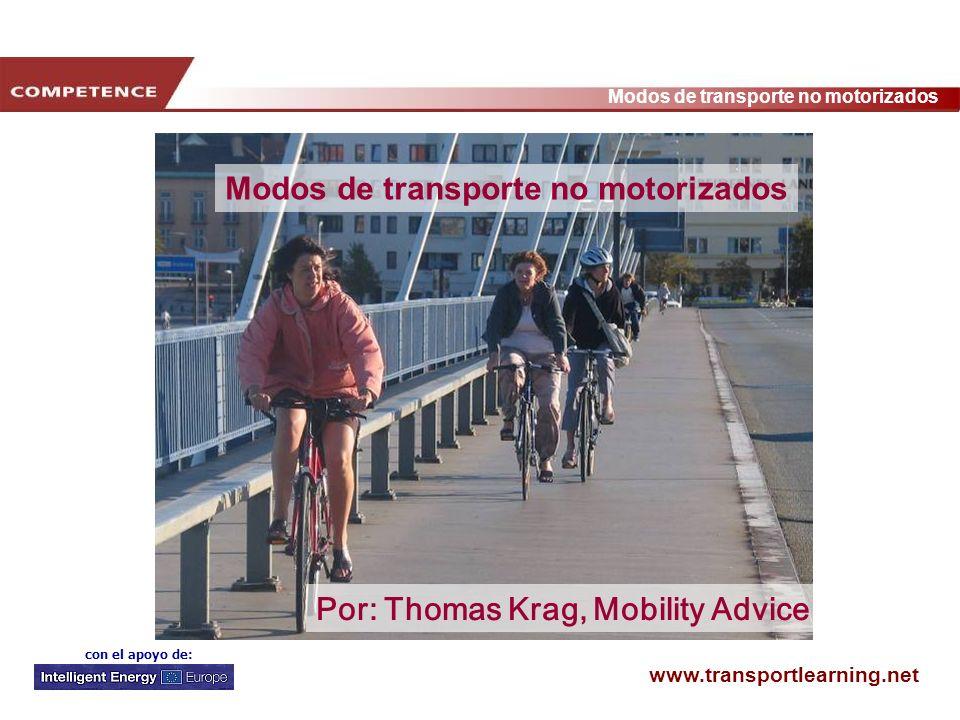 Modos de transporte no motorizados