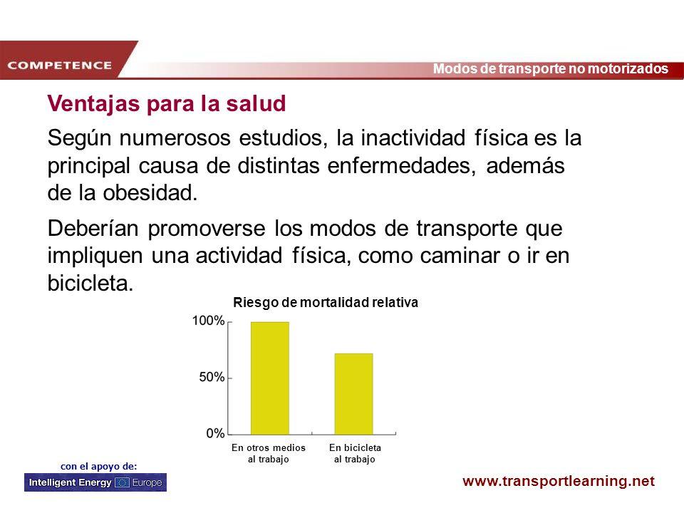 Ventajas para la saludSegún numerosos estudios, la inactividad física es la principal causa de distintas enfermedades, además de la obesidad.