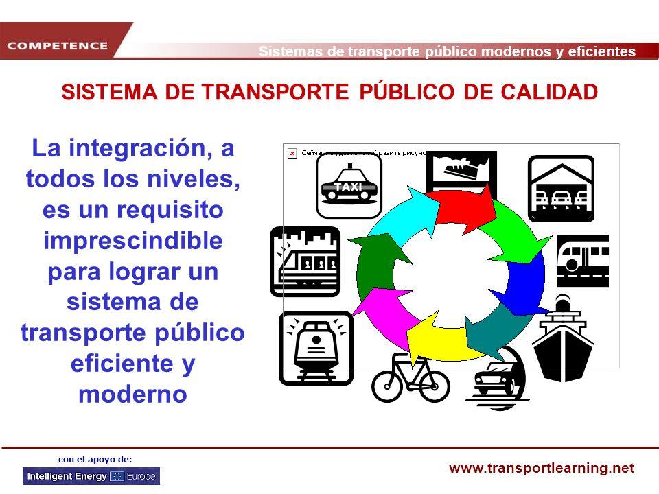 SISTEMA DE TRANSPORTE PÚBLICO DE CALIDAD
