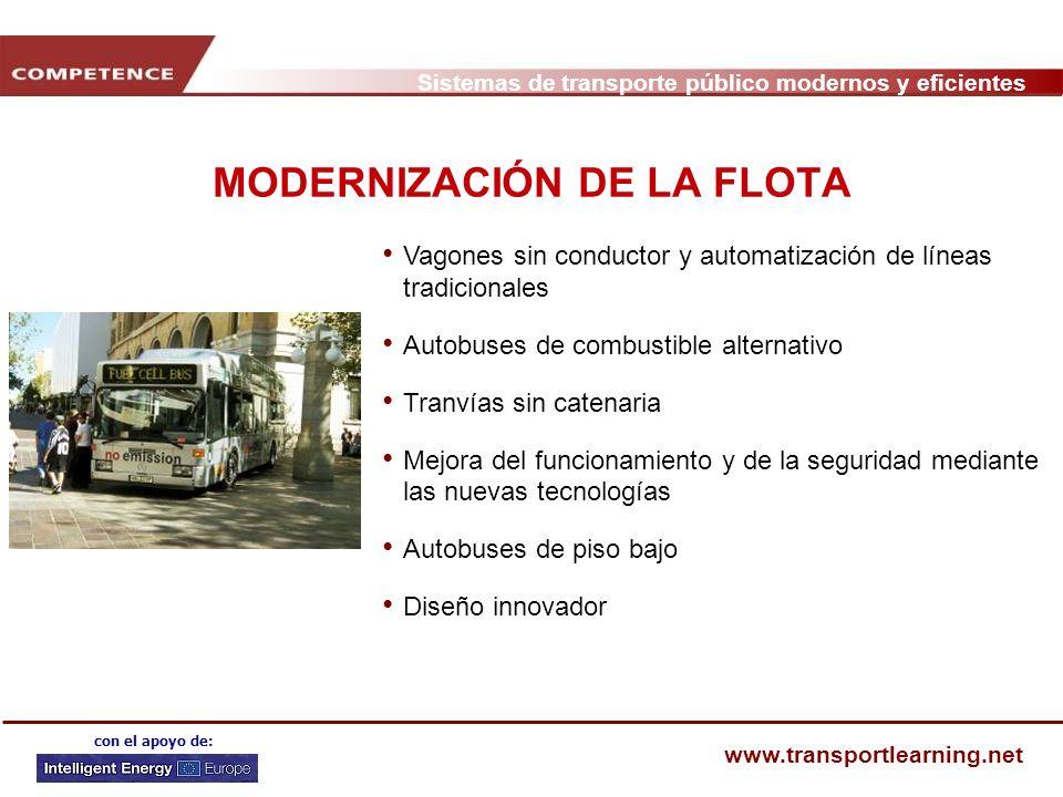 MODERNIZACIÓN DE LA FLOTA