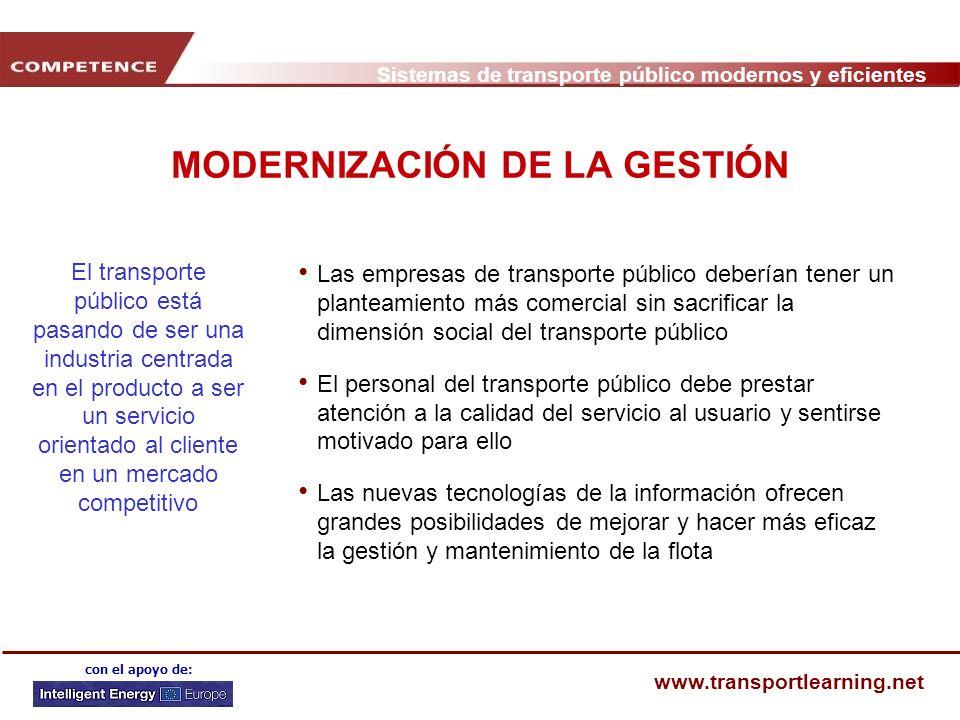 MODERNIZACIÓN DE LA GESTIÓN