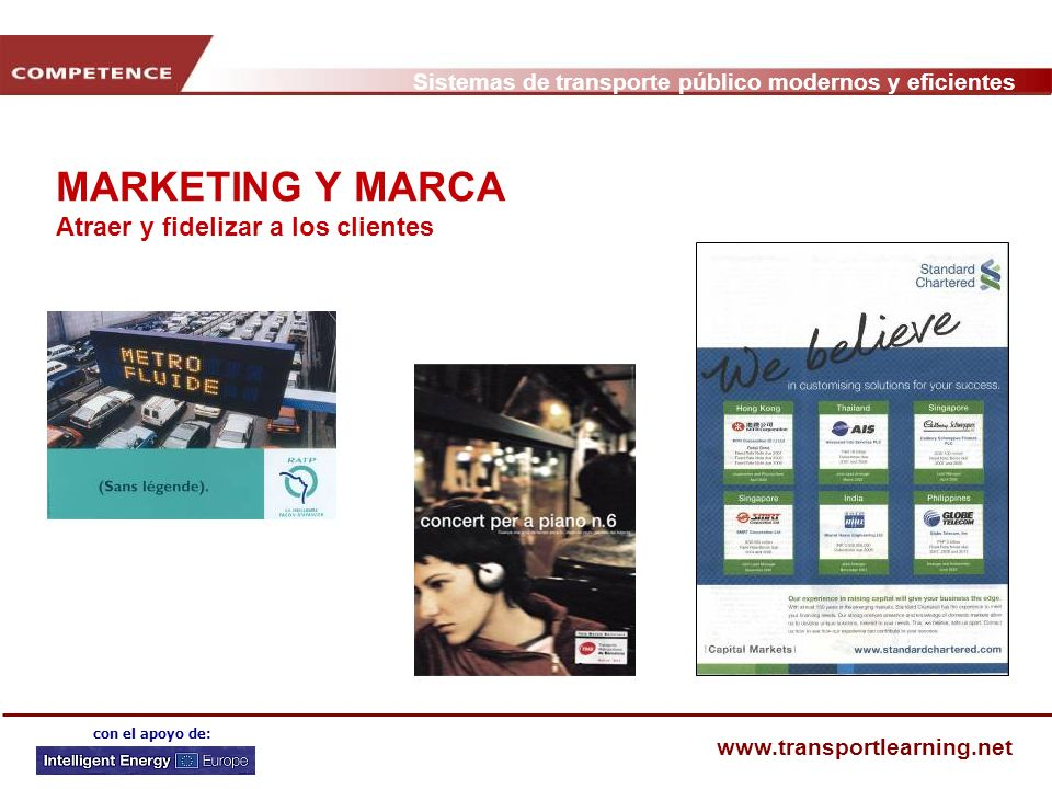 MARKETING Y MARCA Atraer y fidelizar a los clientes