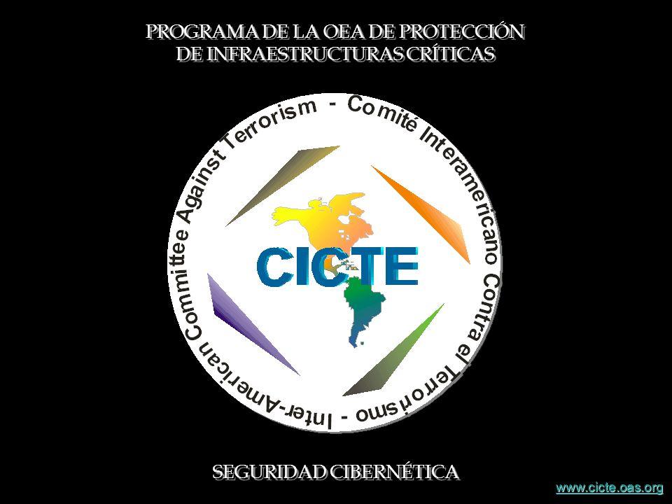 PROGRAMA DE LA OEA DE PROTECCIÓN DE INFRAESTRUCTURAS CRÍTICAS