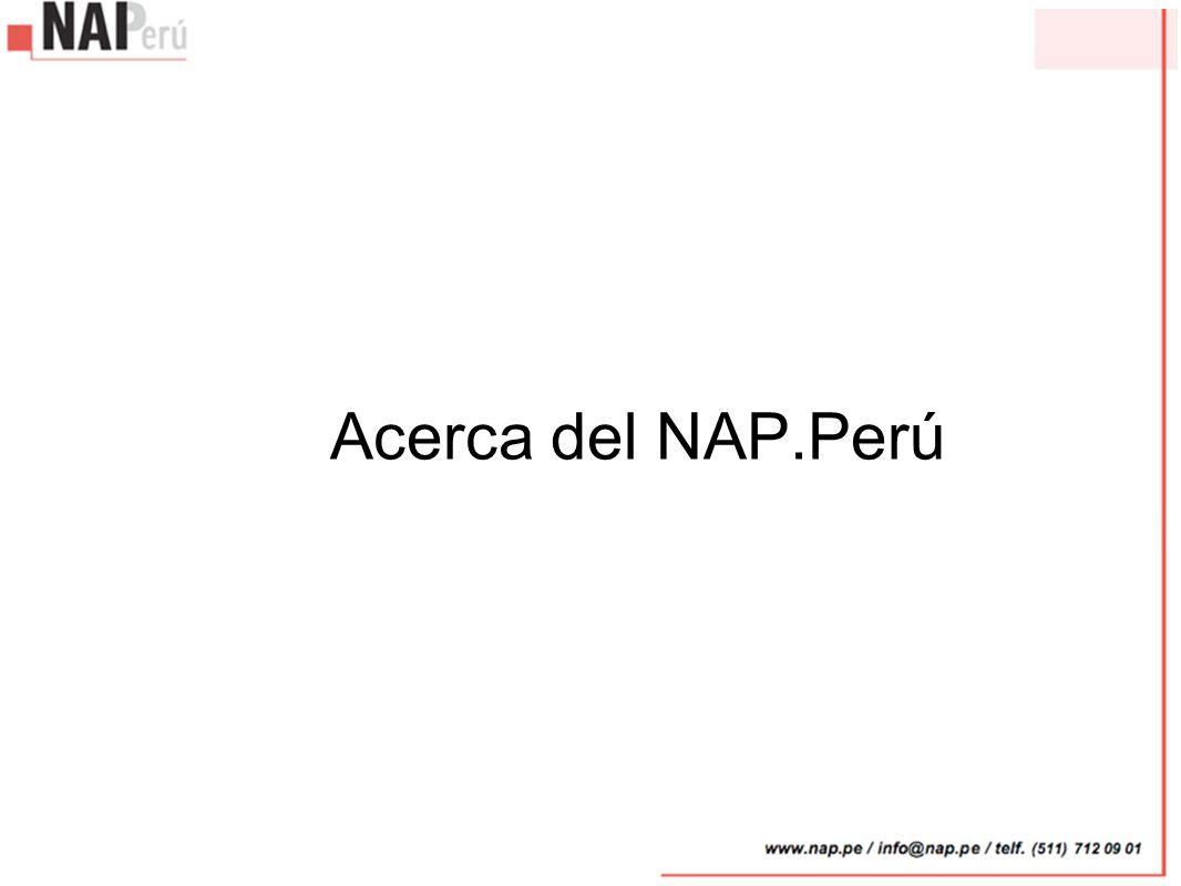 Acerca del NAP.Perú