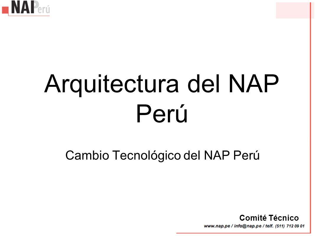 Arquitectura del NAP Perú